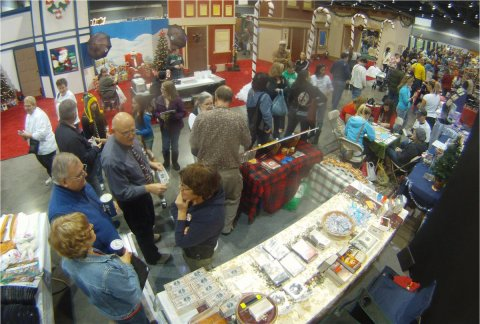 at times our booth got very busy - Americas Largest Christmas Bazaar